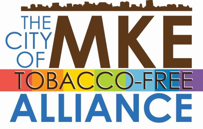 City of Milwaukee Tobacco-Free Alliance rainbow logo