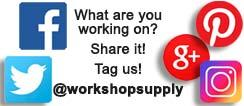 Tag us! @workshopsupply