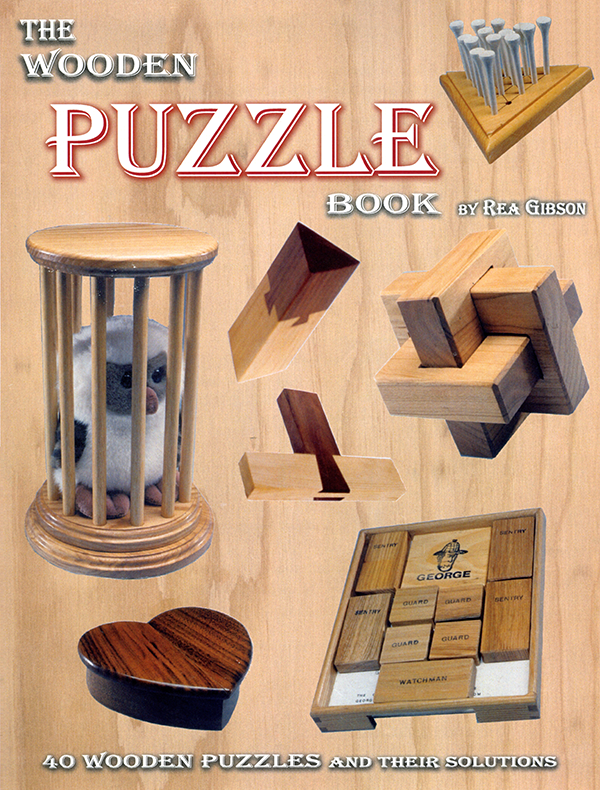 Old, time tested puzzles are included in this book.