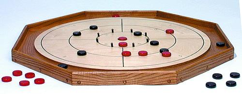 Everything crokinole... plan, discs & bumper kit!
