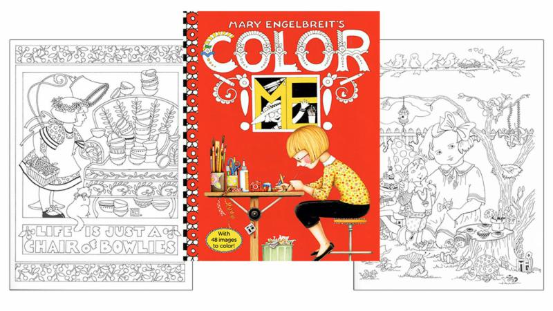 Mary Engelbreit Coloring Books and New Magazine Issue!