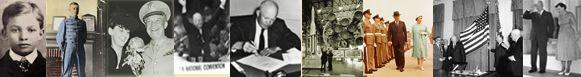 Eisenhower photo collage