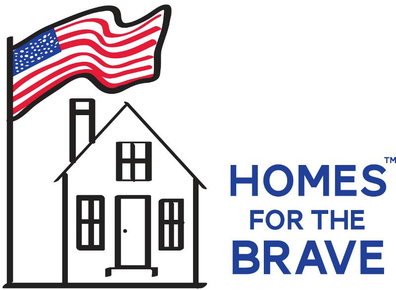Homes for the Brave Logo