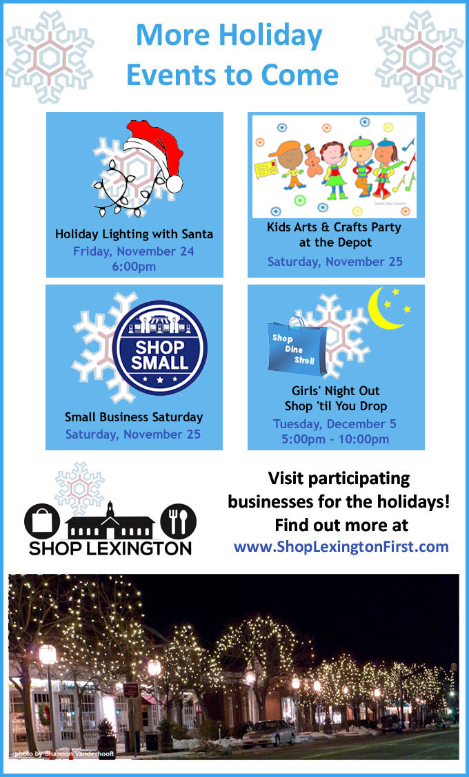 More Holiday Events to Come