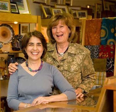 Sandi Simon & Kathy Fields