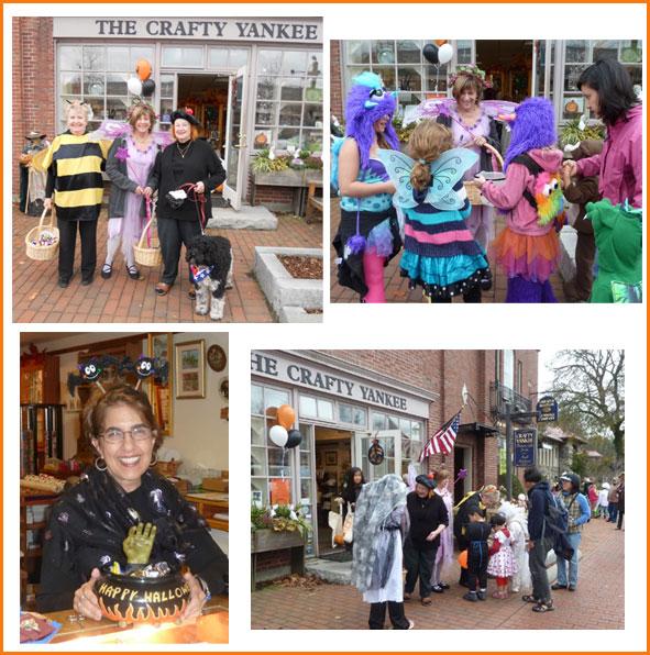 Halloween at Crafty Yankee