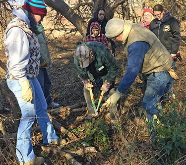 Salona Meadows cleanup
