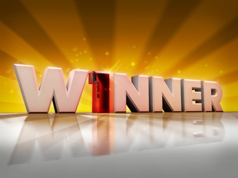 winner graphic