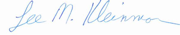 LMK signature
