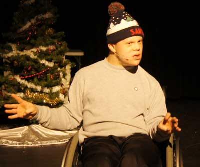 Actor Eric Ferguson with ProAct