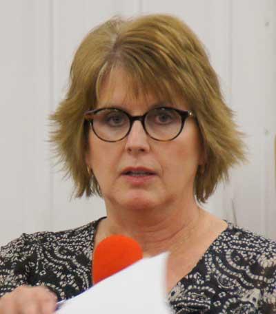 Parent Karen Schwieso