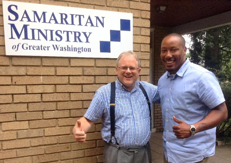 SMGW Executive Director Rev. David B. Wolf (left) and Leon A. Samuels Jr., Deputy Director for Program (right)