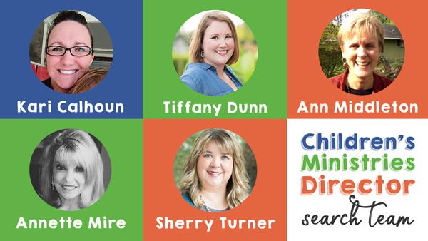 Children's Ministries Director Search Team