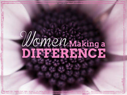 Women Making a Difference