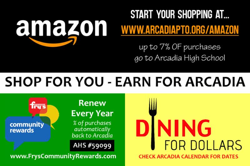 Shop for You - Earn for Arcadia