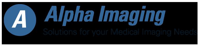 Alpha logo blue transparent