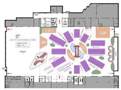 exhibit hall layout
