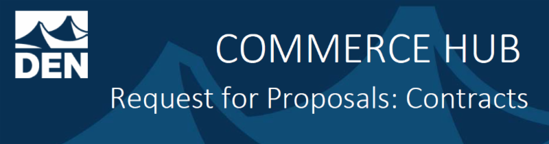 COMMERCE HUB. Request for Proposals: Contracts