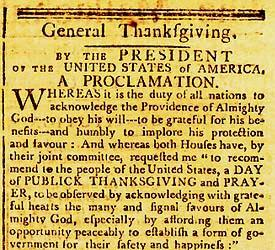 Image result for washington national day of thanksgiving