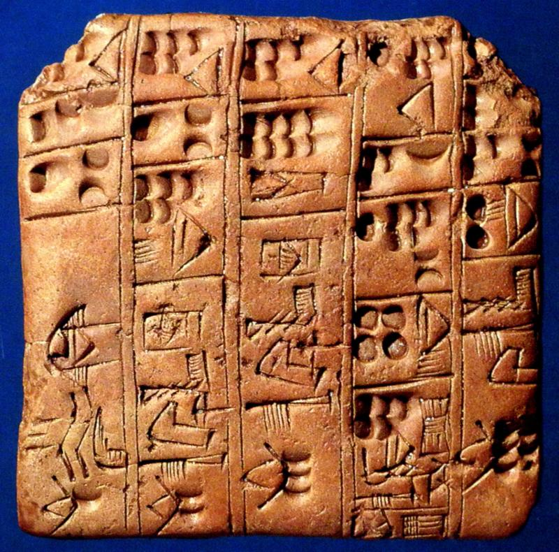 babylonian writing Cuneiform writing was used to record a variety of information the babylonian scribal education concentrated on learning to write sumerian and akkadian using.