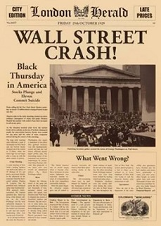 Stock Market Crash – 1929