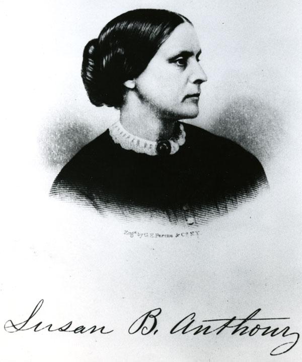 Rochester, New York, women defy ban on voting, 1872-1873