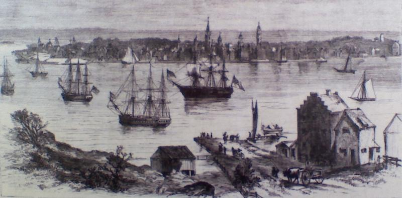Jefferson's Day of Fasting when British blockaded Boston