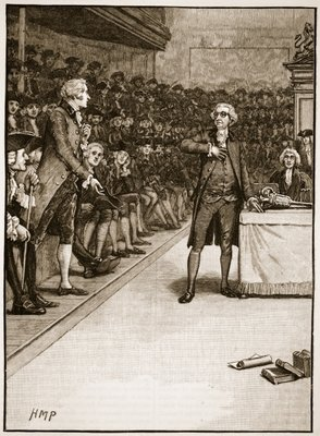 """American Minute Burke on French Revolution """"What is liberty without virtue? It is madness, without restraint!""""; """"All that is necessary for evil to triumph is for good men to do nothing""""-Edmund Burke, British Statesman"""