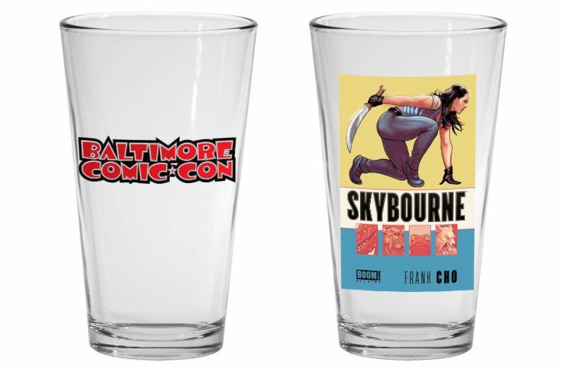 Baltimore Comic-Con Skybourne Tumbler