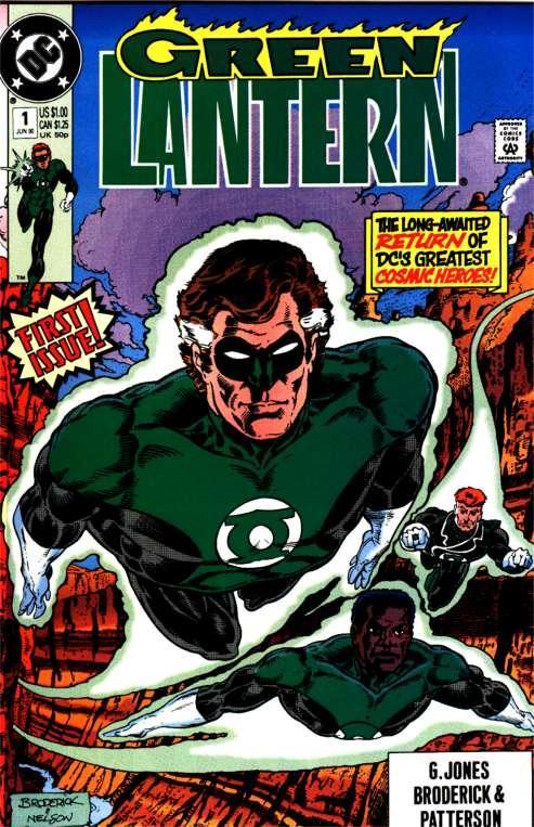 Green Lantern by Pat Broderick