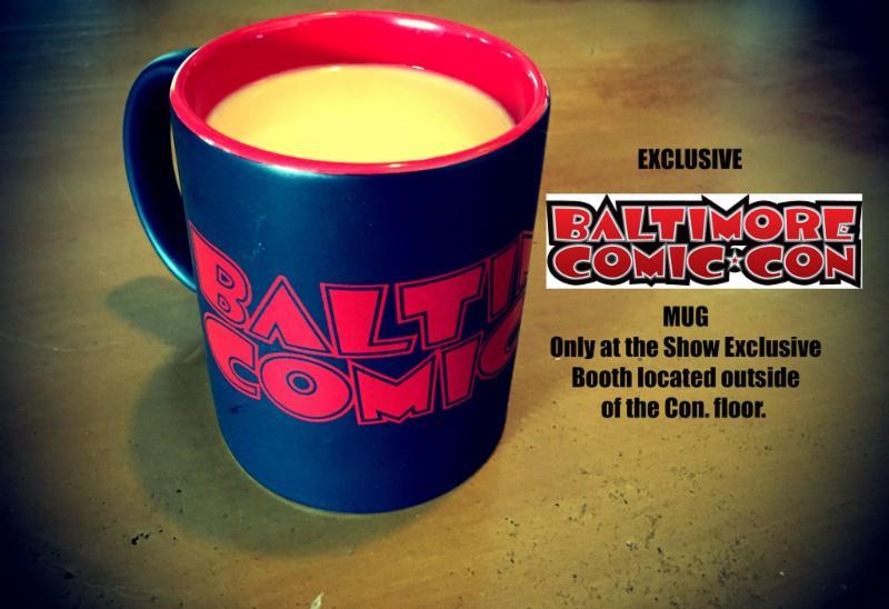 Baltimore Comic-Con Mug