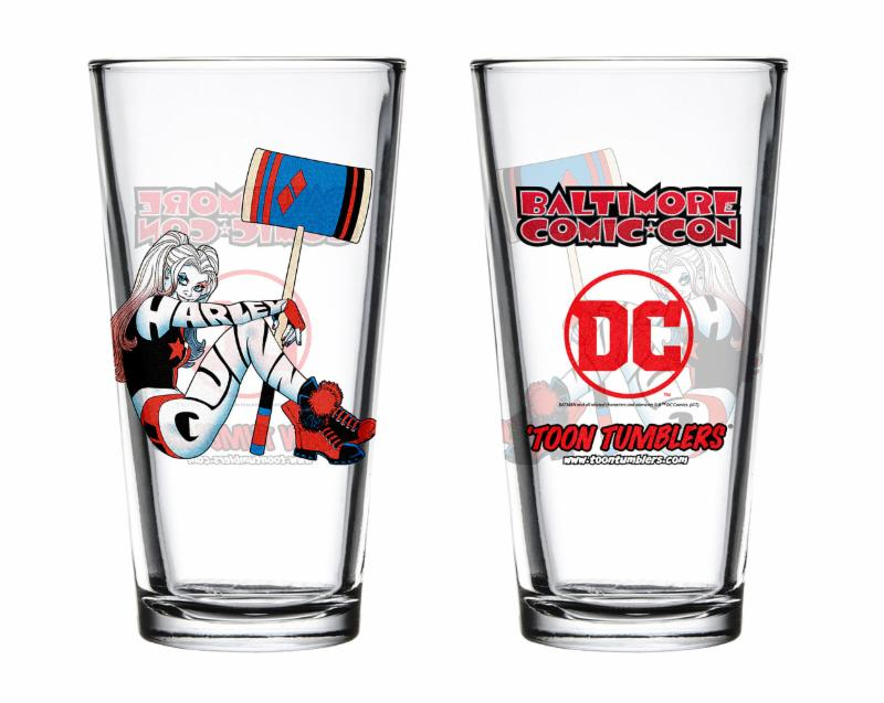 Harley Quinn Toon Tumbler BCC Exclusive