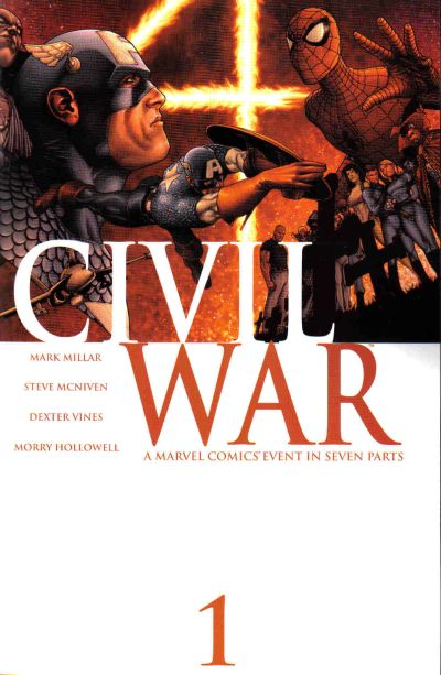 Civil War by Steve McNiven