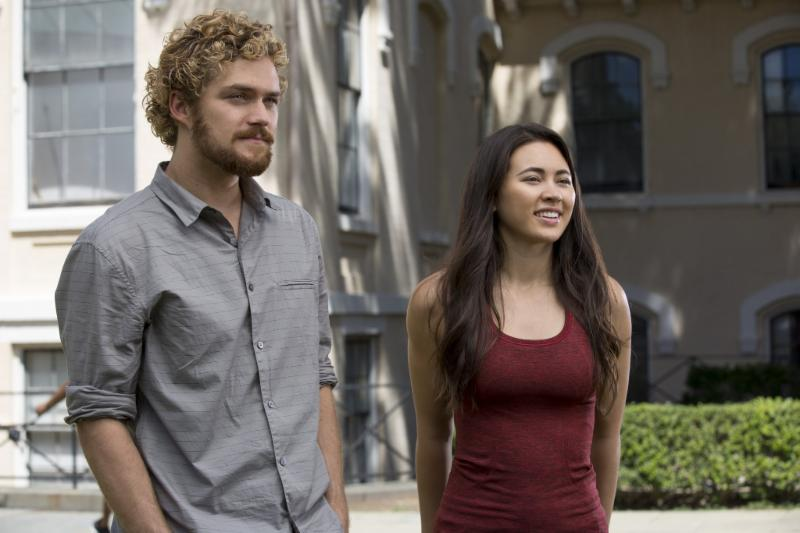 Finn Jones and Jessica Henwick