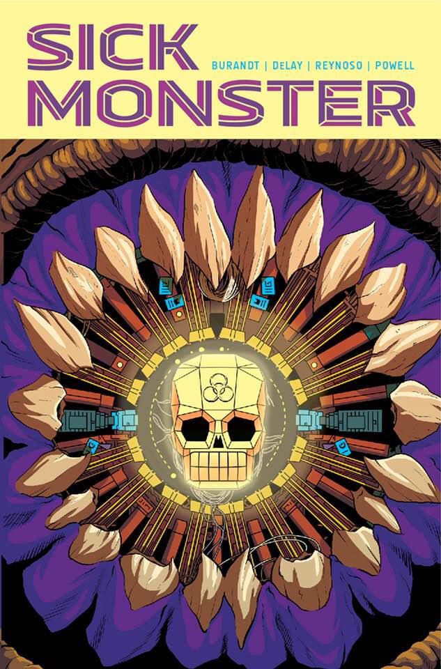 Sick Monster by Jeffrey Burandt