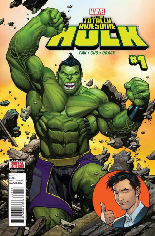 Totally Awesome Hulk by Frank Cho