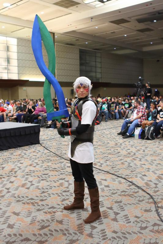 Brian Parker as Fierce Deity Link