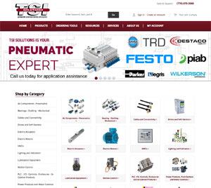 www.tsisolutions.us e-commerce website