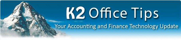 K2 Office Tips Header