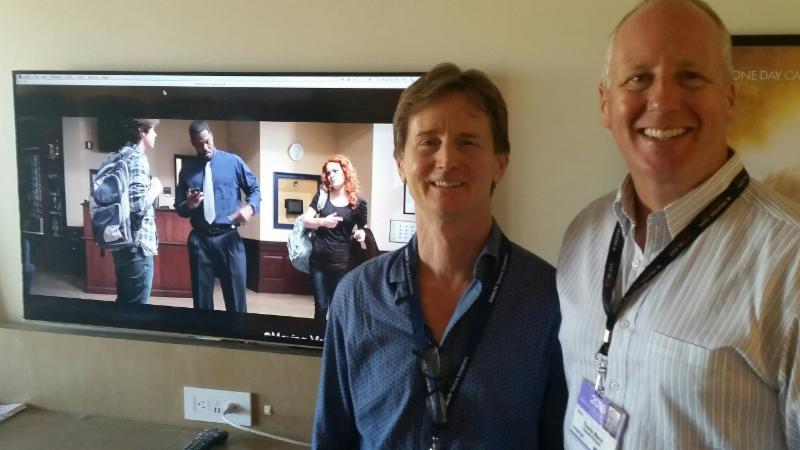 John David Ware and Travis Mann at AFM