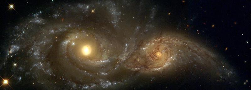 Two Galaxies Header