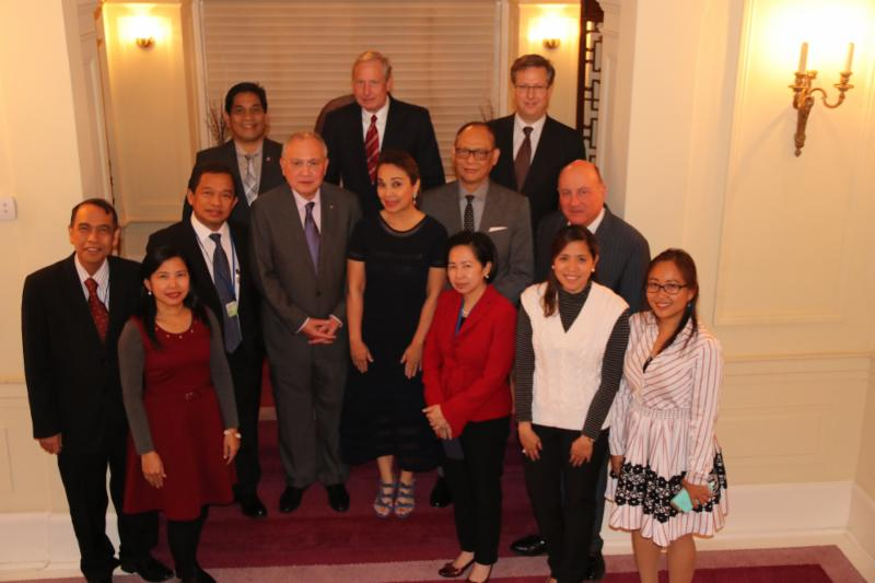 Reception iho PH delegation