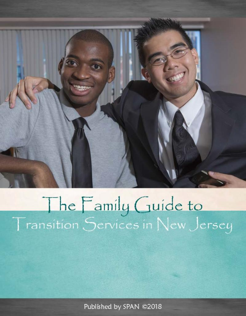Cover page for The Family Guide to Transition Services in New Jersey