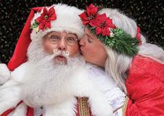Dale & Trish Parris Santa and Mrs. Claus