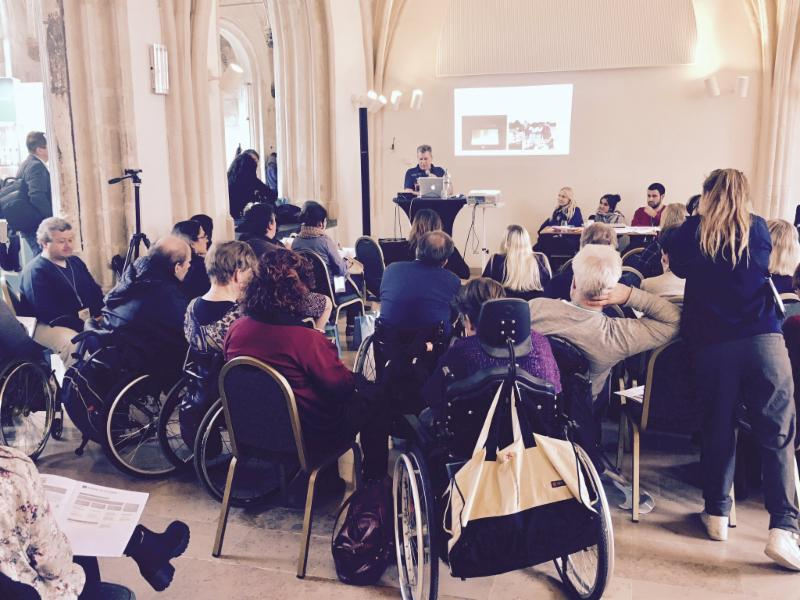 David Morrissey presents to the International Federation on Spina Bifida and Hydrocephalus in Ghent, Belgium, October 2016.