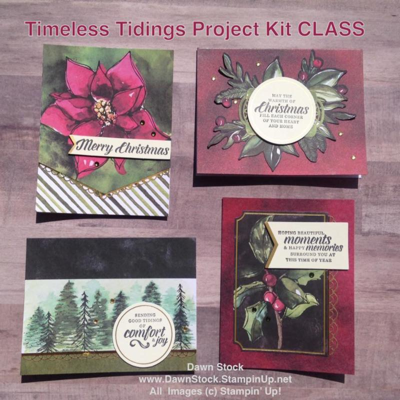 Timeless Tidings Class