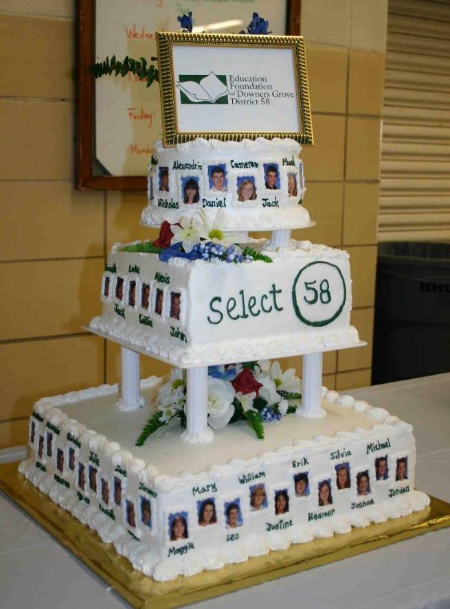 Select 58 cake