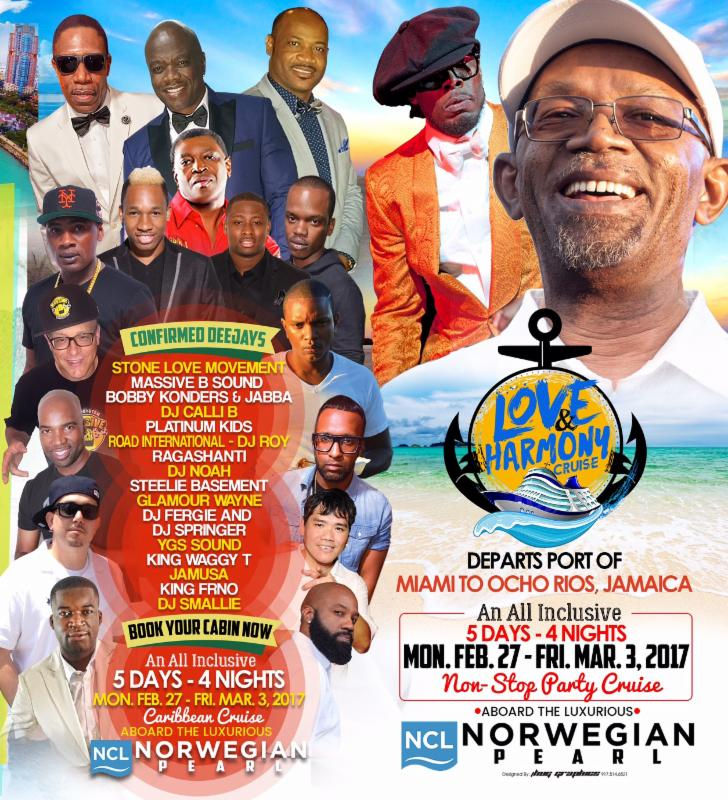 CHRISTOPHER MARTIN, KONSHENS, AND DEXTA DAPS, JOIN BERES & SHABBA ON LOVE & HARMONY CRUISE!