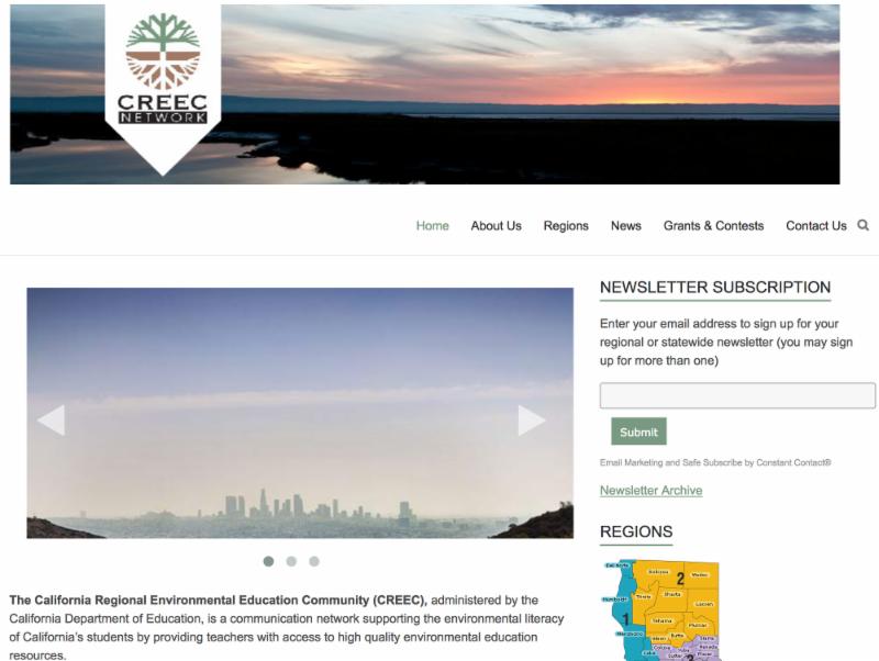 Link to CREEC website homepage