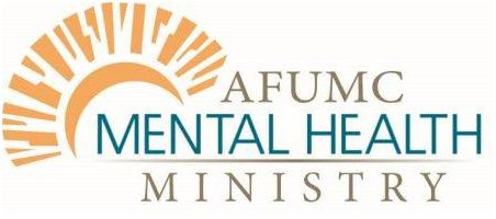 Logo of Ankeny Mental Health Ministry which includes a stylized sunrise